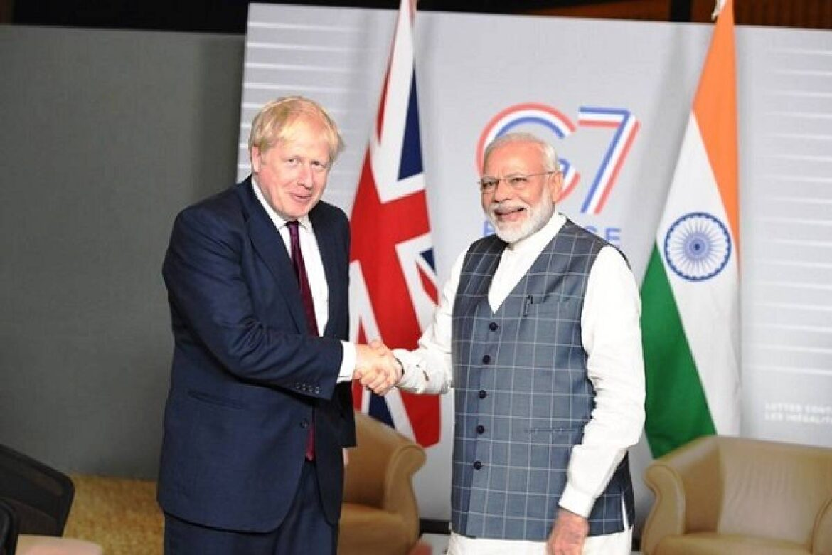 Watch UK PM Boris Johnson Diwali Message. Praised temples for feeding the needy in COVID times