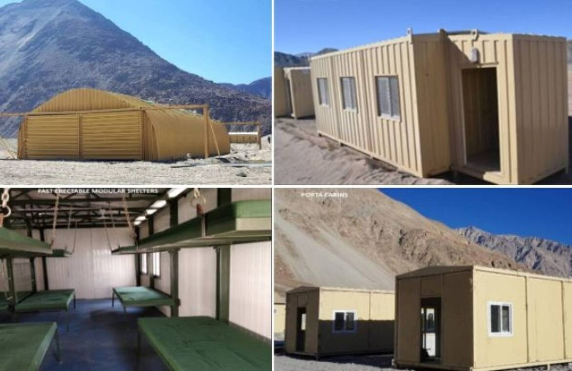 'Smart Camps' Ready For Indian Army Troops Deployed In Eastern Ladakh To Counter China's Salami Slicing