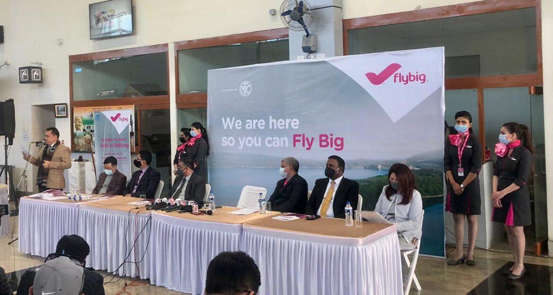 FlyBig launches Shillong-New Delhi direct flight service