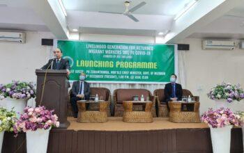 Mizoram Govt Migrant Project