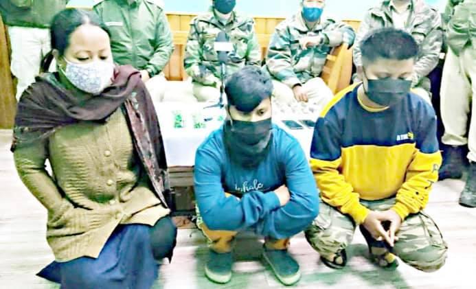 Manipur police foiled bomb plot. 3 women arrested