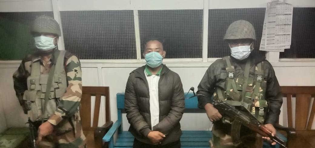 Assam Rifles arrest NSCN-U cadre from NHPC campus in Manipur
