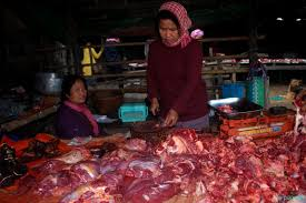 Complete ban on import of pigs and pork meat in Senapati town