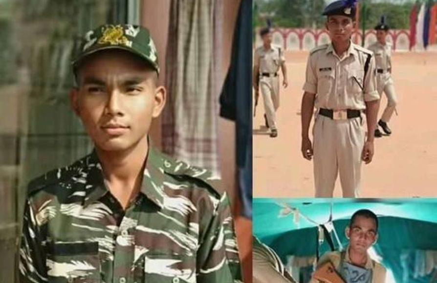 Last rites of martyred CRPF personnel Mritunjoy Chutia performed in Dibrugarh