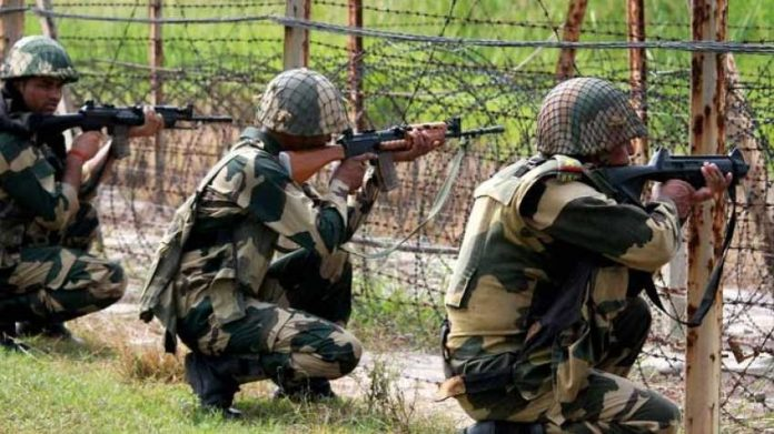 Firing between BSF Jawans and Cattle Smugglers in Coochbehar, West Bengal