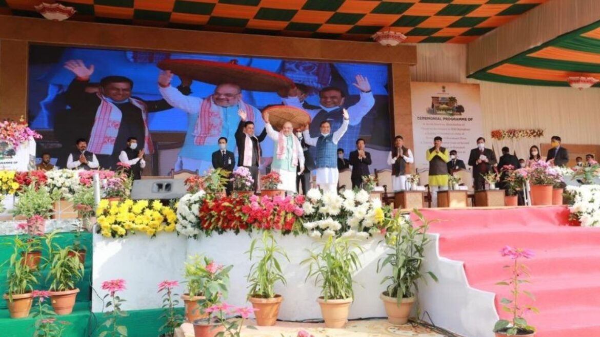 Union Home Minister Amit Shah in Assam committed to protect Assam's culture and identity