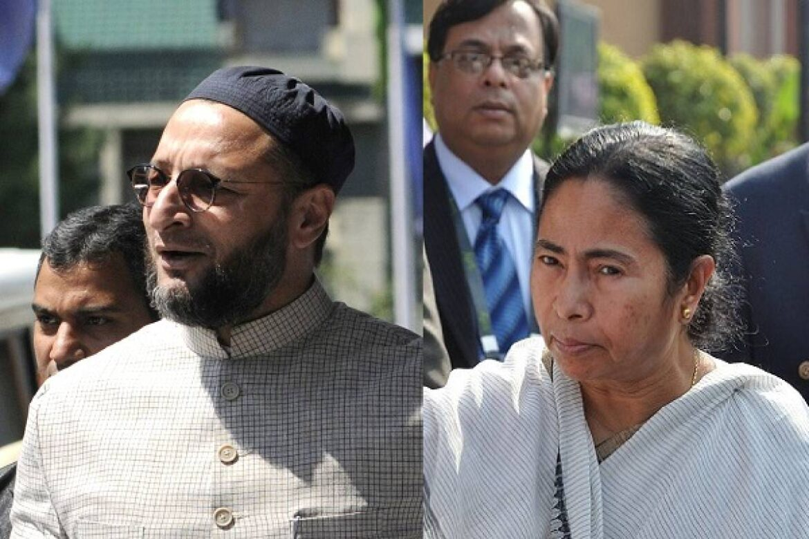 Owaisi And Mamata Bitter Exchange Of Words As She Accuses AIMIM Chief Of Taking Money From BJP