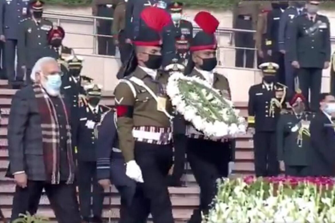 PM Pays Tribute To Soldiers On 50th Anniversary Of 1971 India-Pakistan War