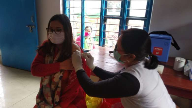 Dry run for COVID-19 vaccine starts in 2 districts of Manipur