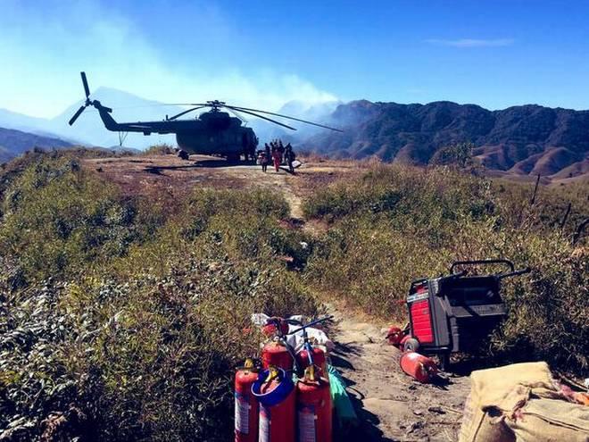 Dzuko Valley Wildfire continues to spread