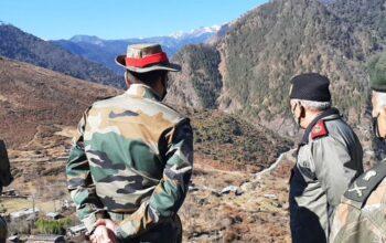 Gen Rawat in Arunachal
