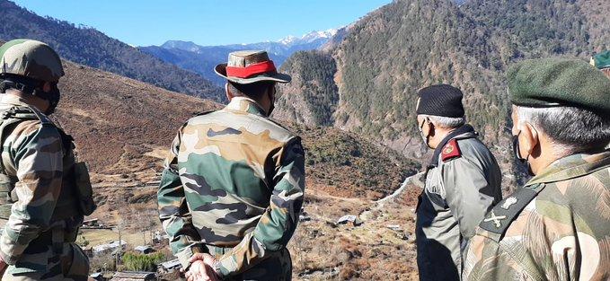 Chief of Defence Staff General Rawat reviews operational preparedness in Arunachal Pradesh