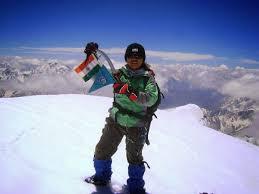 Sikkim Mountaineer Shanti Rai scales Ama Dablum