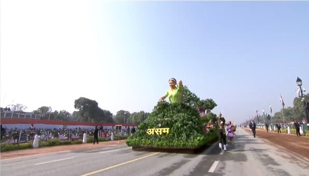 Republic Day Parade: Assam's tableau features its Tea Industry