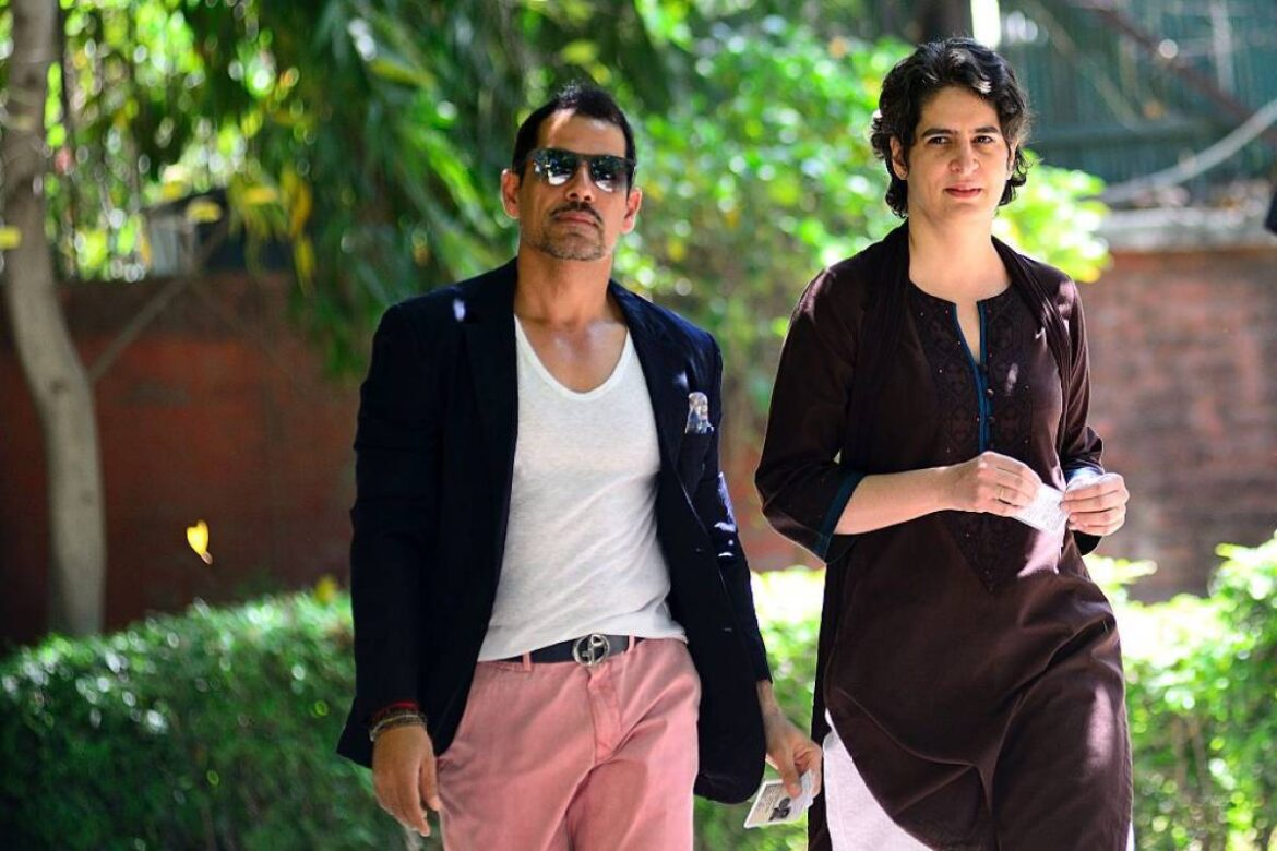 Income Tax Department Records Robert Vadra's Statement In Benami Assets Investigation Case