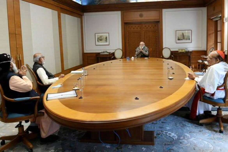 Kerala 2021: PM Modi Meets  Catholic Bishops