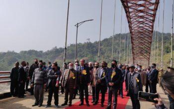 meghalaya gets indias longest road arch bridge
