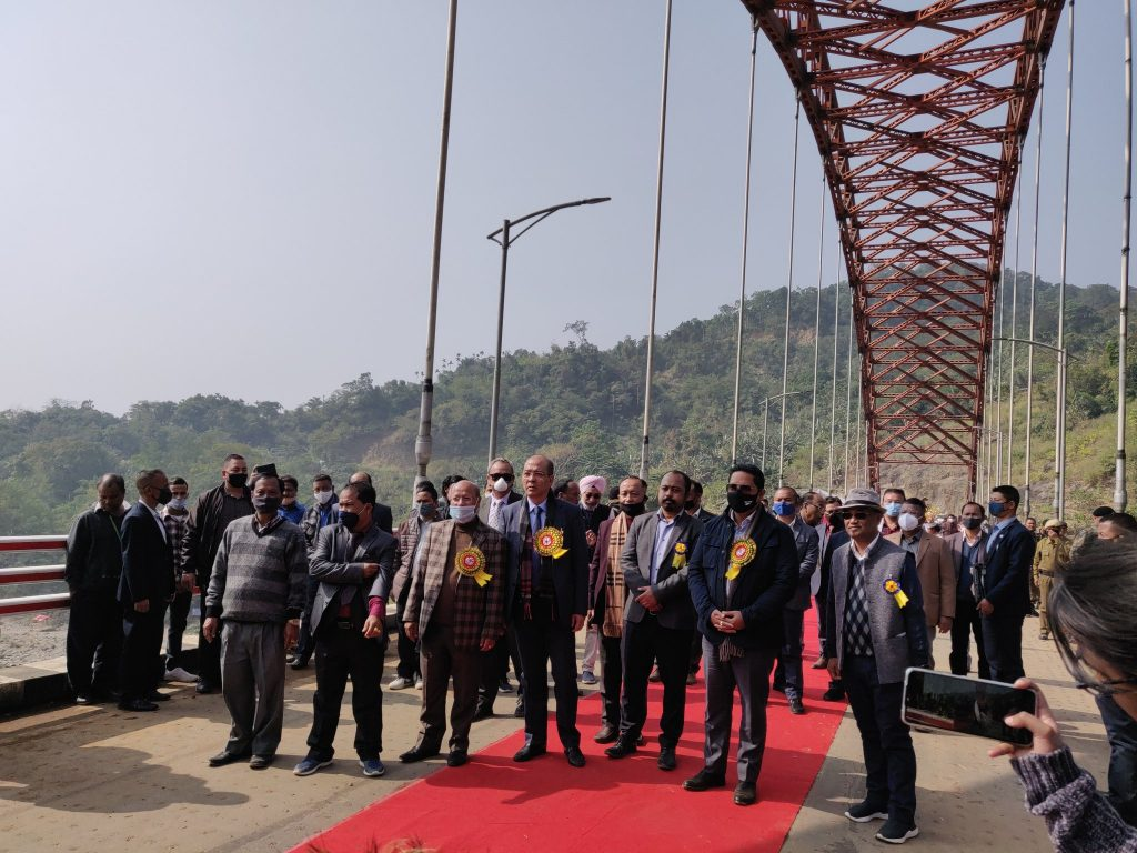 Meghalaya CM inaugurates  Wahrew Bridge: India's longest road arch bridge
