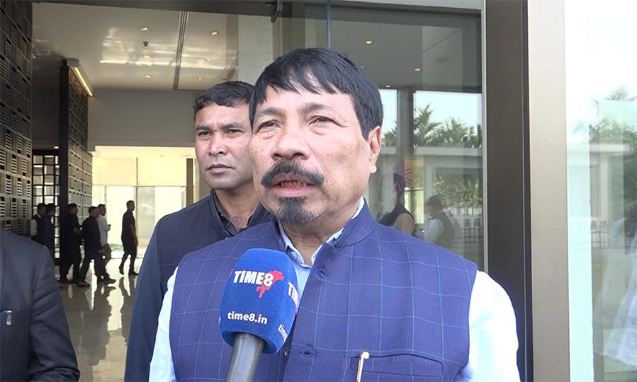 Assam Minister Atul Bora compares Congress Party to Corona Virus