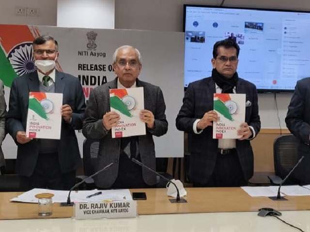 Manipur ranked first among North East States in NITI Aayog India Innovation Index