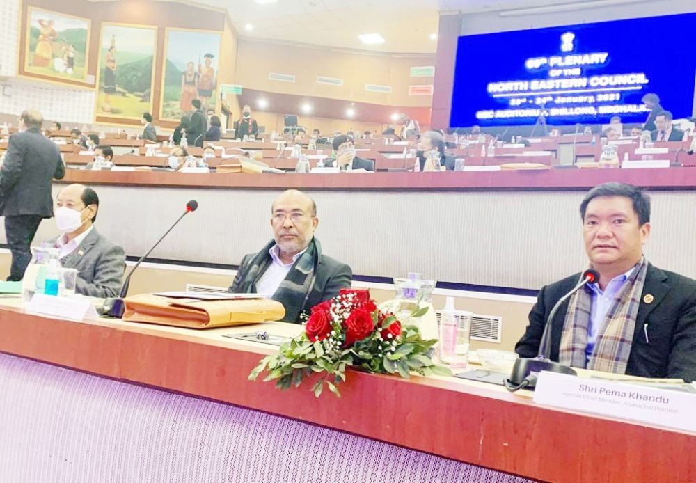 69th Plenary Meet of the North Eastern Council concludes