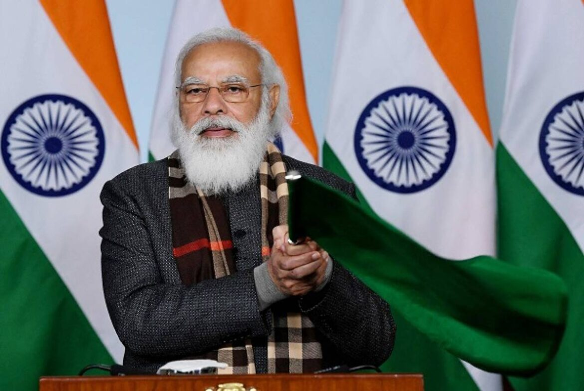 PM Modi Likely To Be Vaccinated In Second Phase Of Covid-19 Immunisation Drive Around March : Report