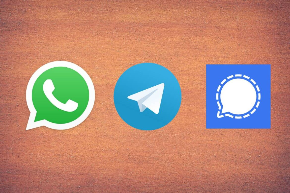 WhatsApp Telegram or Signal: Where Do You Go For Secure Messaging?