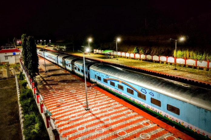 Lifeline Express- World's 1st Hospital Train now stationed in Assam