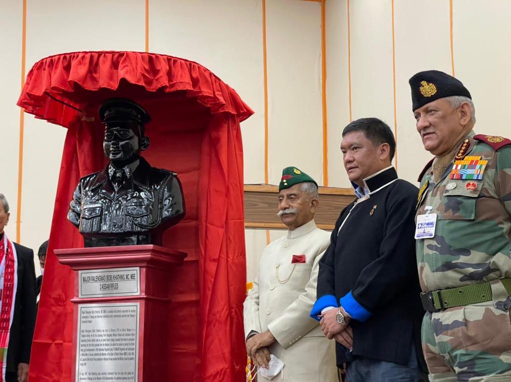 Late Major Bob Khathing, man who secured Tawang awarded Arunachal Ratna posthumously