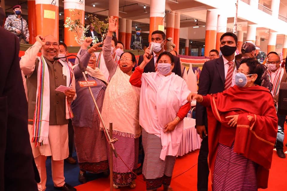 All women market 'Ima Keithel' re-opens in Manipur