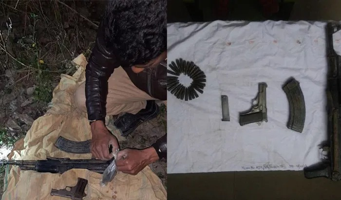 Assam: AK-56 assault rifle and ammunition recovered from forest in Kokrajhar