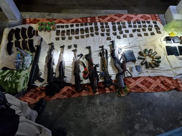 Huge cache of arms and ammunition in Kokrajhar, Assam