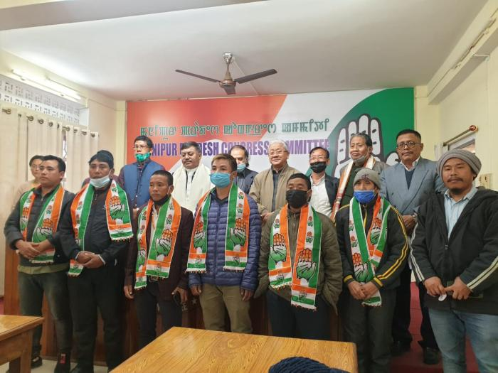 MPCC president Govindas says BJP's propaganda on Hill-Valley cheap. 6 BJP members along with 200 party workers of Nungba block joins Congress