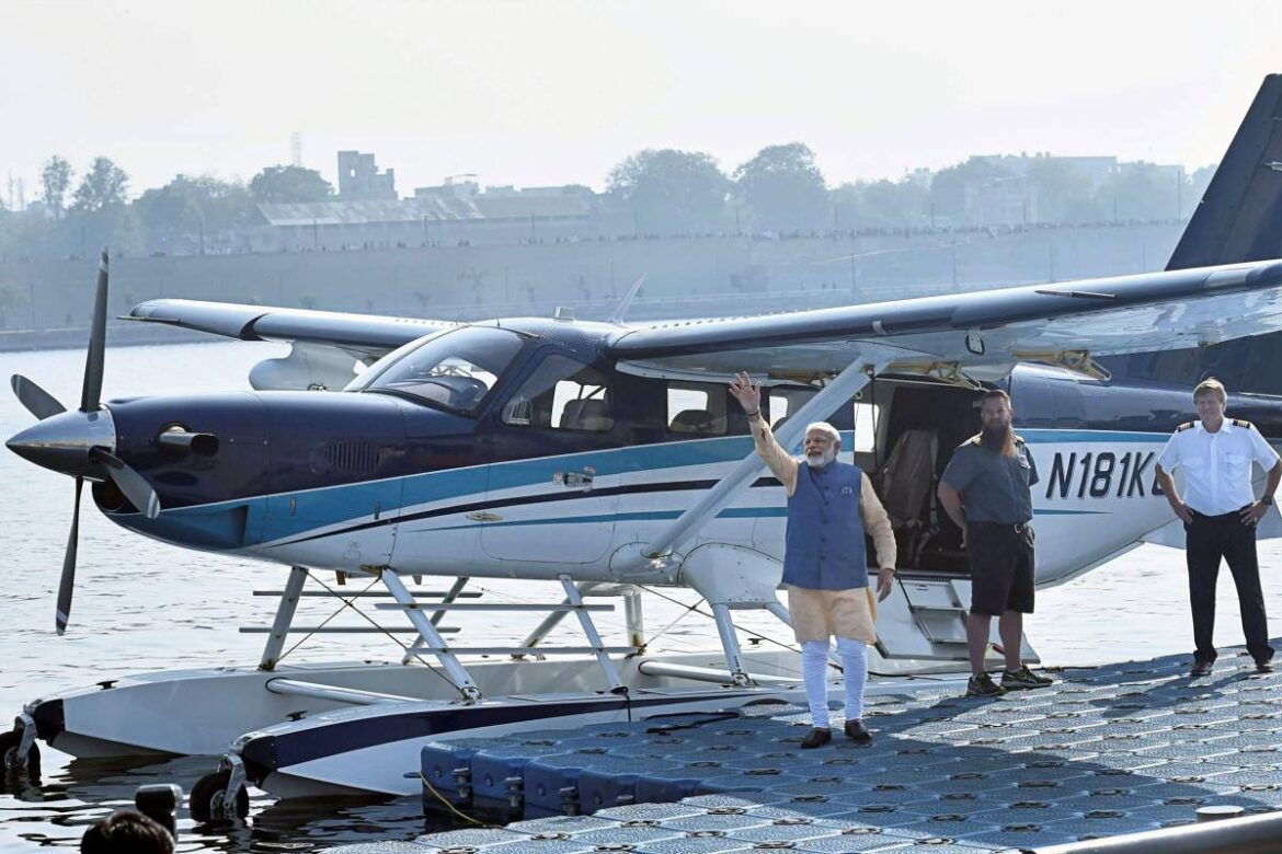 Seaplane : Govt To Launch Services Covering Chandigarh, Delhi, Jaipur, Guwahati, Ayodhya, Badrinath Among Others