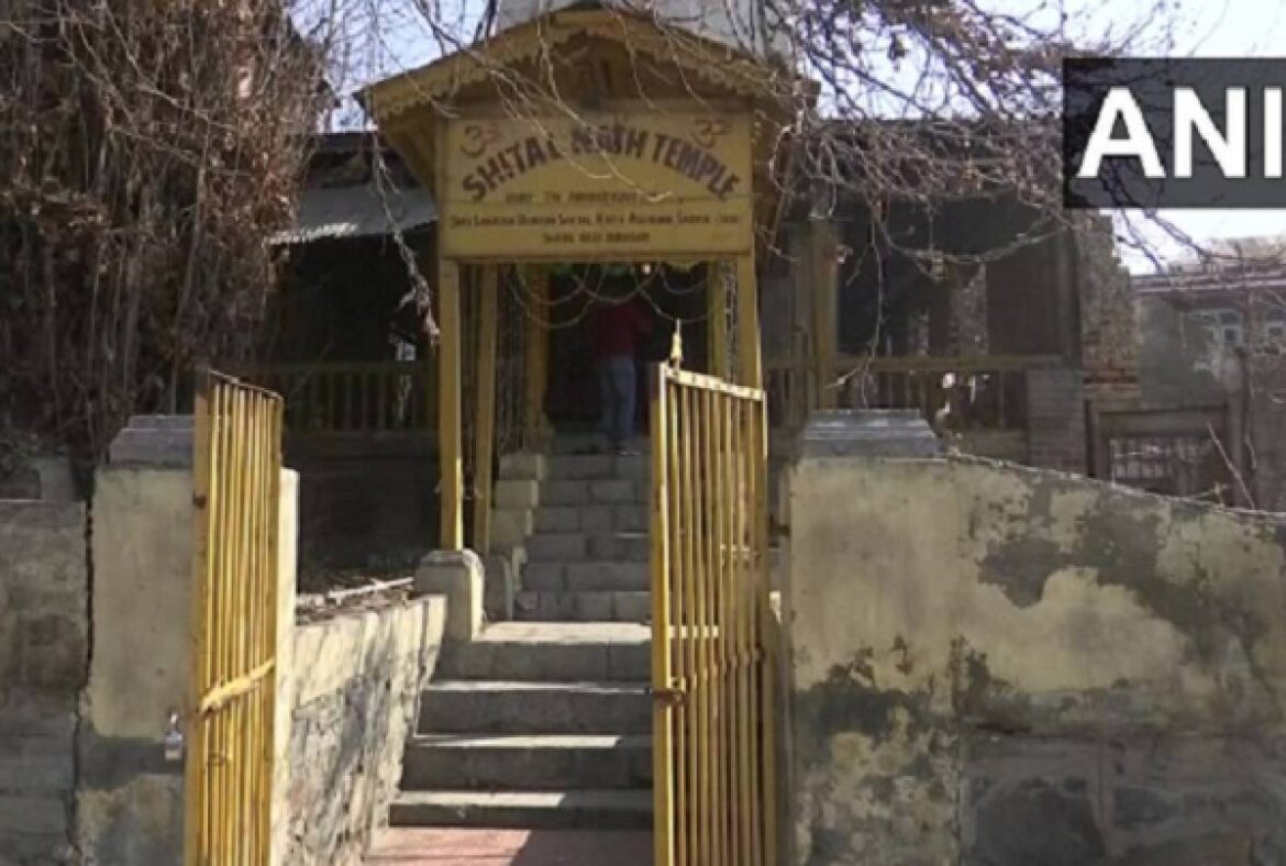 Hindu Temple In Srinagar  Opens After 31 Years