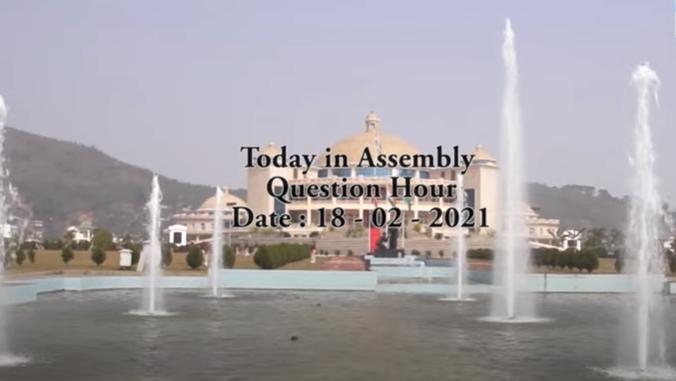 WATCH: Manipur Legislative Assembly Feb 18 Question Hour Session