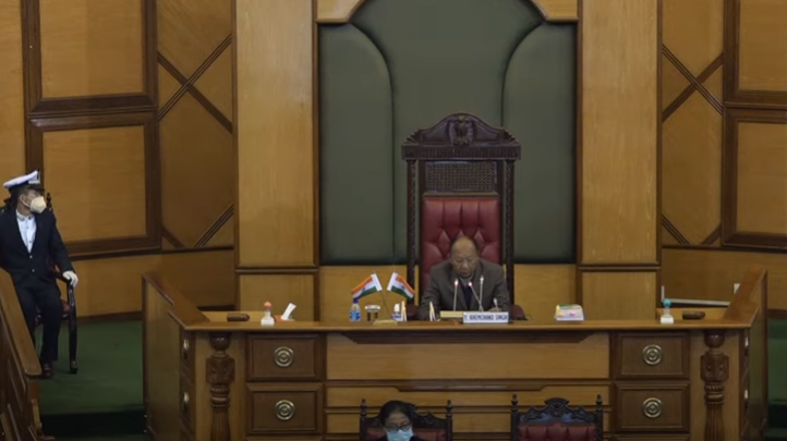 WATCH Manipur Assembly Session Question Hour Feb 12