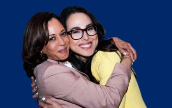 kamala harris controversial niece meena told by white house lawyers to stop using her aunts name for brand building