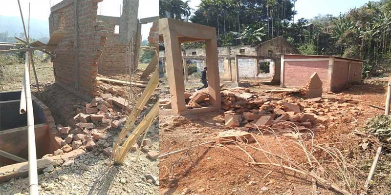 Bomb blasts in Hailakandi school along Assam-Mizoram border