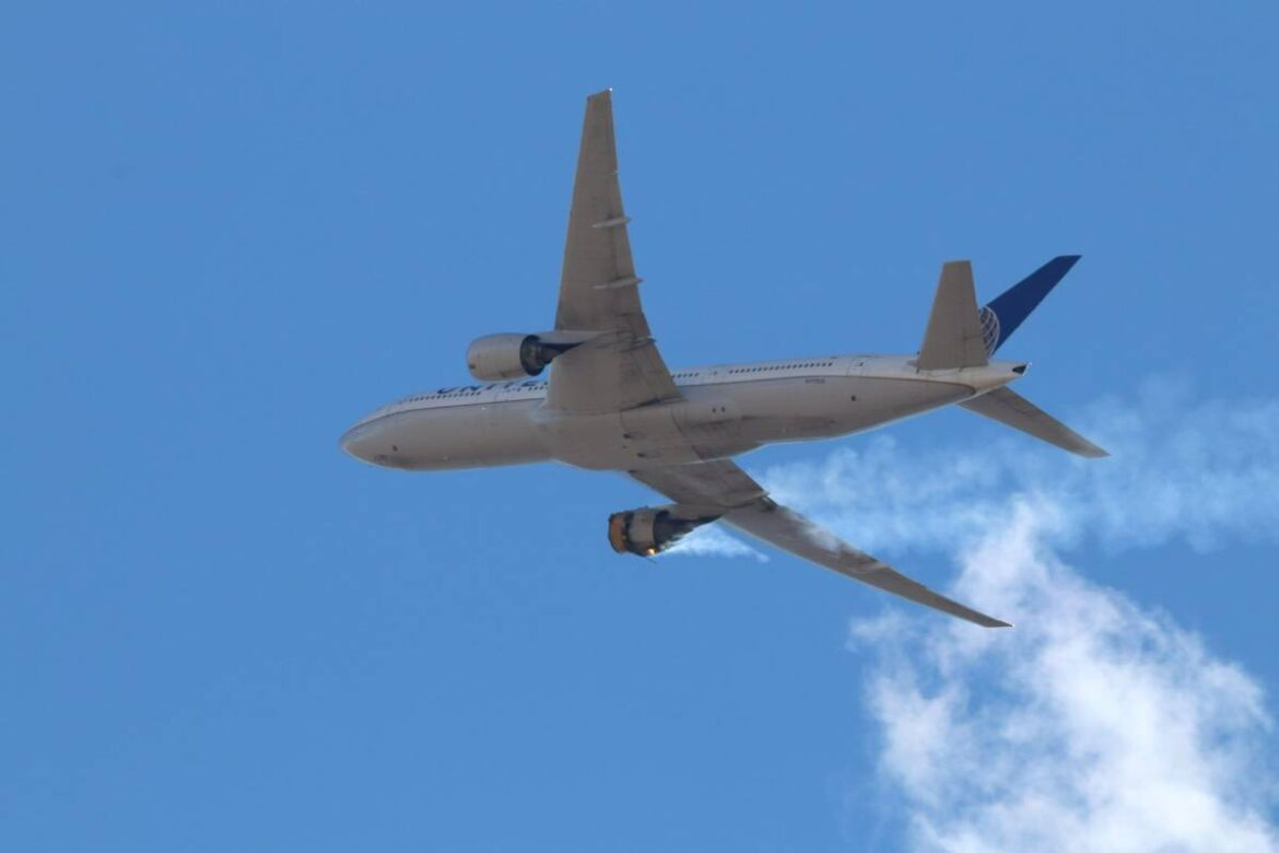 Plane Parts Fall From Sky After Engine Failure; United Airlines Grounds 24 Boeing 777 Aircrafts