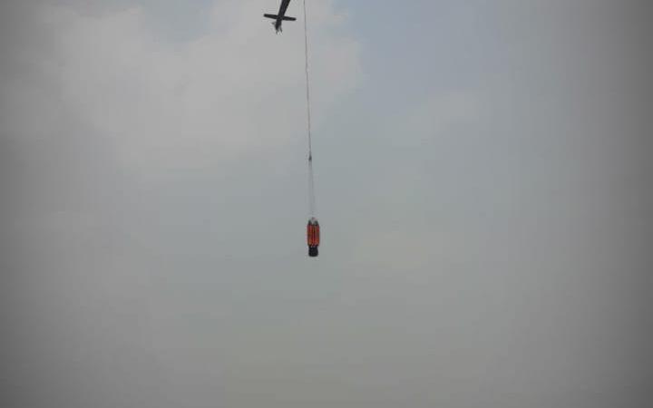 IAF chopper for Shirui fire
