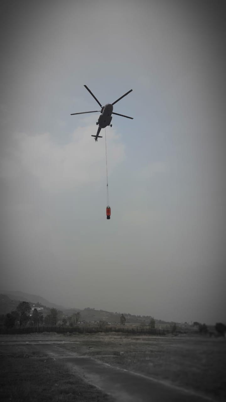 Fire at Shirui Peak: IAF continue efforts to douse fire