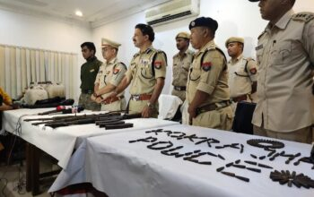 btc huge cache of arms ammunition recovered in kokrajhar