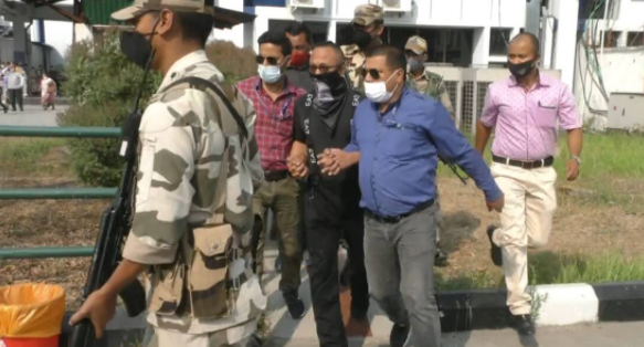 """Narengbam Samarjit Salai Holdings founder and """"Manipur Government in EXILE"""" brought to Imphal by NIA"""