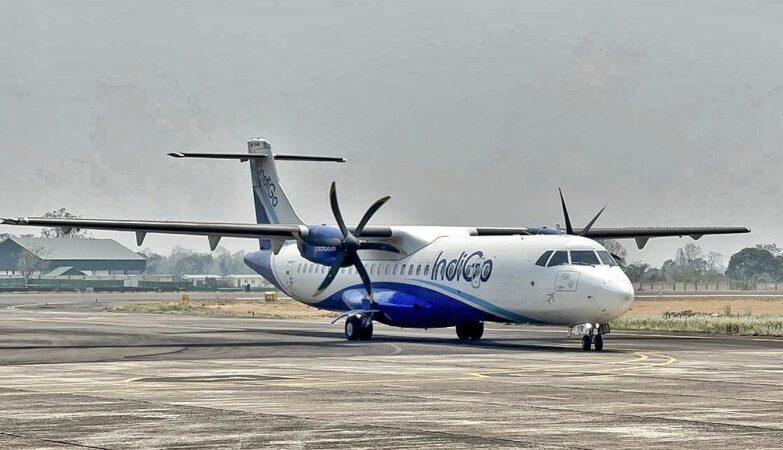 meghalaya indigo commences flight from shillong to silchar