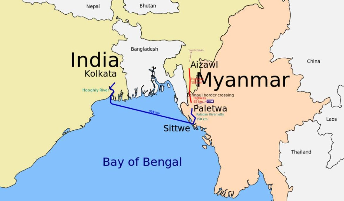 Sittwe Deep Water Port Built By India In Myanmar To Be Operational Soon. Will Benefit Landlocked Mizoram